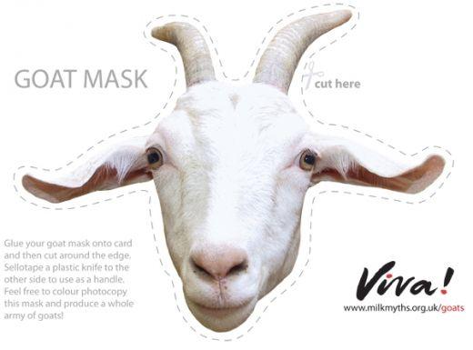 Goat Mask | Viva!