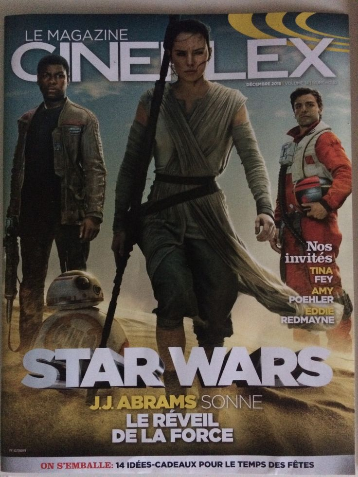 'Star Wars: The Force Awakens' Cineplex Magazine