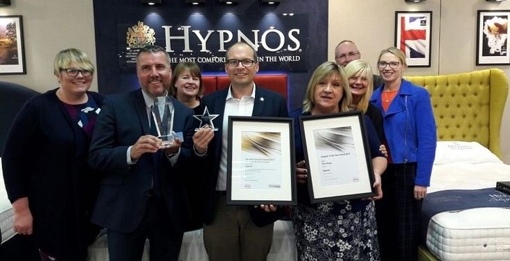 Hypnos Contract Beds' Voted Bed Supplier of the Year by AIS Group.