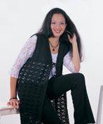 long vest: Crochet Ideas, Cardigan Pattern, Crochet Hooks, Heart Yarns, Crochet Vest, Handmade Yarn, Crochet Patterns, Free Patterns, Hook Clothing