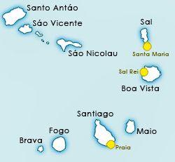 Cape de Verde islands, info and facts. - Cape de Verde islands info and facts. Activities, attractions, cheap holidays. Cape Verde, where is Cabo Verde?