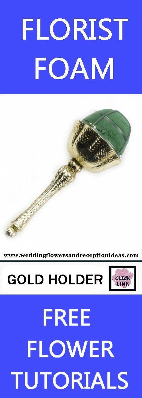 15 best Bouquet Holders images on Pinterest   Bouquet holder, Bridal ...