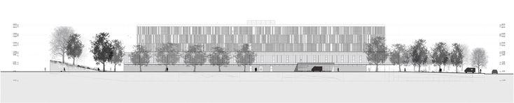 Galería - Fábrica de Paisaje, Primer Lugar en concurso sanatorio y centro nacional de rehabilitación / Montevideo - 29