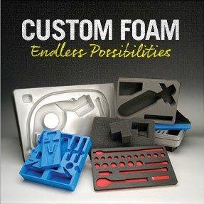 Custom Pelican Case Foam