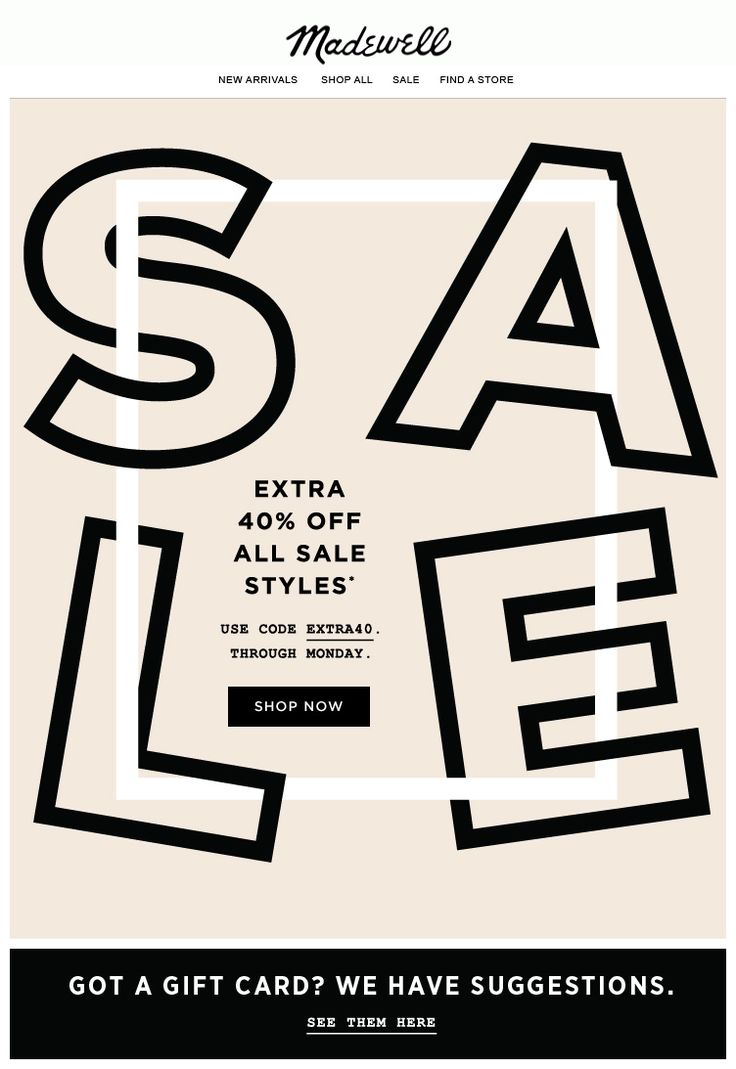 Madewell : Sale