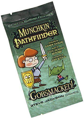 Munchkin Pathfinder Gobsmacked Booster Pack D10 Card Game Steve Jackson Games http://www.amazon.co.uk/dp/B00GUNM5YU/ref=cm_sw_r_pi_dp_KJetwb181TA7N