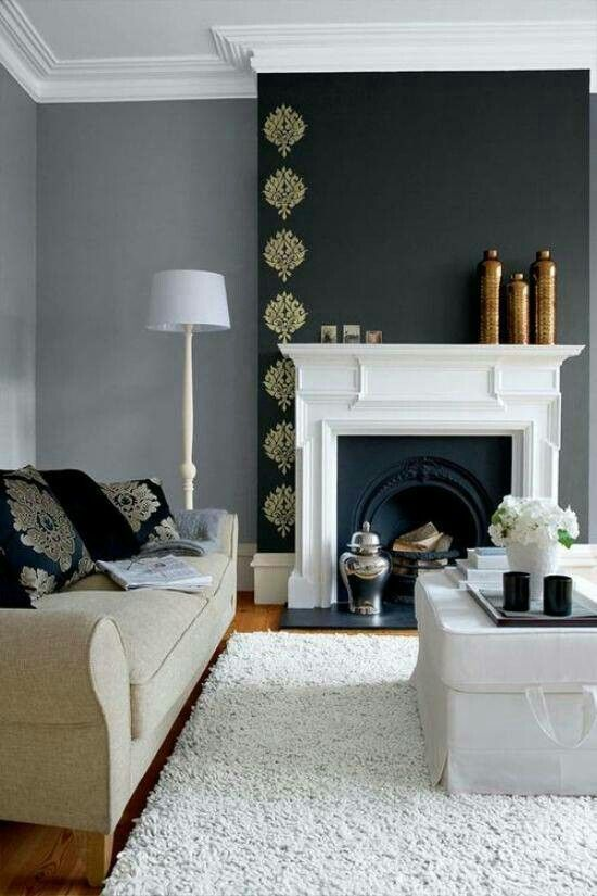 Color for fireplace
