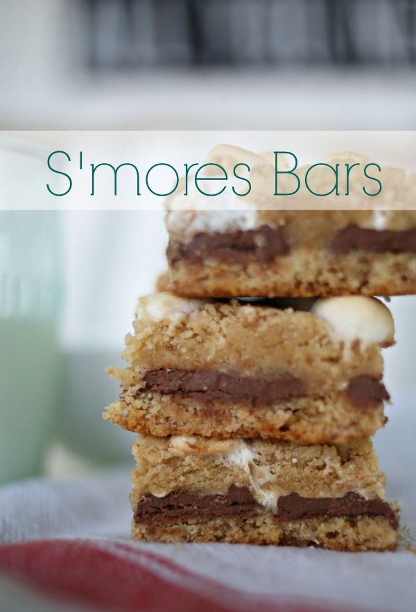 These s'mores bars are my favorite summer treat! These are perfect for when you want s'mores but need to feed a crowd and don't have time to build a fire.  Kids and adults alike will devour them! via lifeingrace