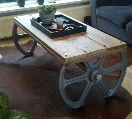 Table we built #industrial #furniture