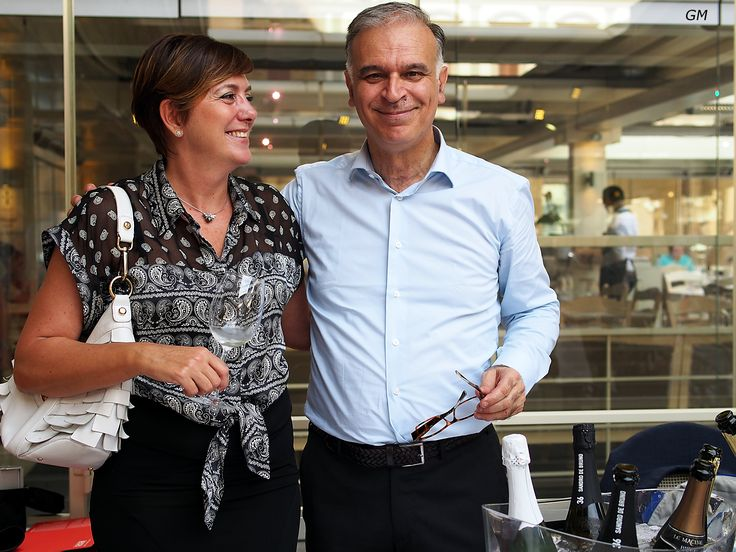 Wine tasting at the Giubbe Rosse Cafè, Florence 20 of september 2014