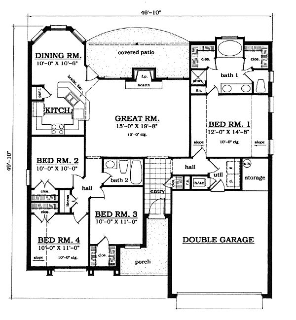 1000 Images About House Plans Under 1500 Sq Ft On