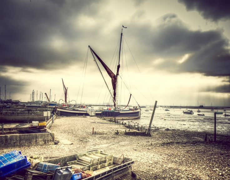 West Mersea Sailing Barge by Nigel Lomas on 500px