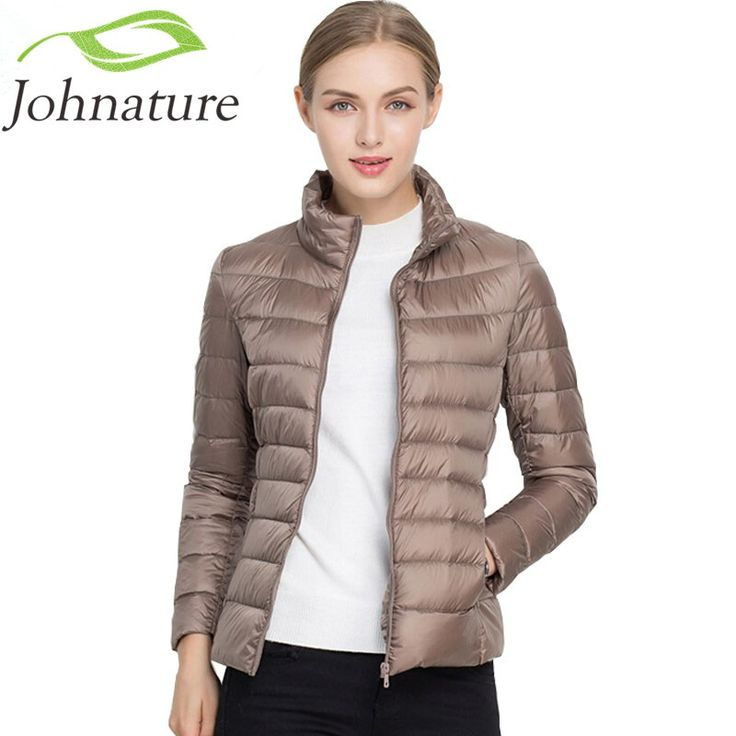 Johnature 90% White Duck Down Jacket Autumn Winter 17 Colors New Warm Slim Zipper 2017 Women Fashion Light Down Coat S-3XL     Tag a friend who would love this!     FREE Shipping Worldwide     Get it here ---> https://onesourcetrendz.com/shop/all-categories/womens-clothing/womens-jackets/johnature-90-white-duck-down-jacket-autumn-winter-17-colors-new-warm-slim-zipper-2017-women-fashion-light-down-coat-s-3xl/