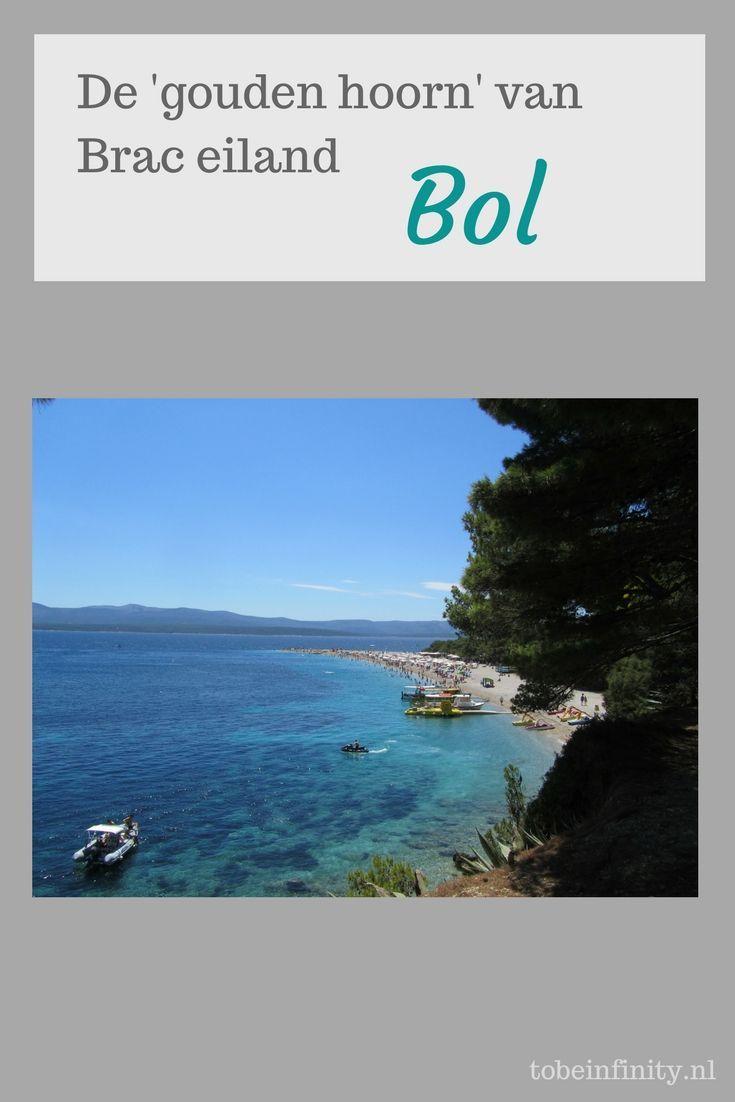 Bol, op het eiland Brac in Kroatië, staat vooral bekend om het strand van de 'gouden hoorn'. De leukste bezienswaardigheden van Bol, lees je hier!