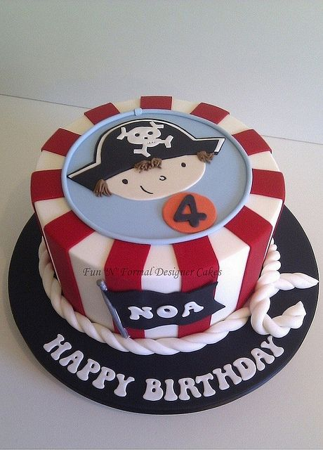 pirate theme cake | Pirate themed Birthday Cake | Flickr - Photo Sharing!