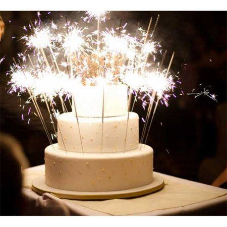 Buy Cake Sparklers Candles 8 Count At Walmart
