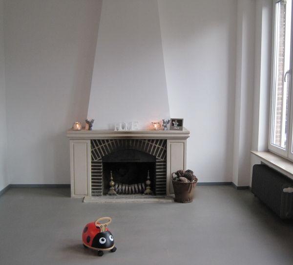 116 best sols intérieurs images on Pinterest Flooring, Floors and - peinture sol sur ragreage