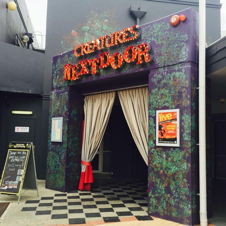 Creatures Next door Comedy Club, Fremantle, Western Australia.
