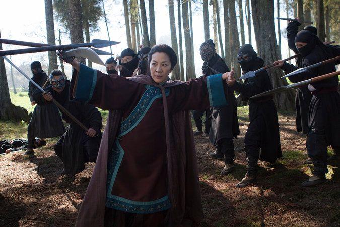 Review: 'Crouching Tiger, Hidden Dragon: Sword of Destiny,' a Fight-Ridden Sequel - The New York Times