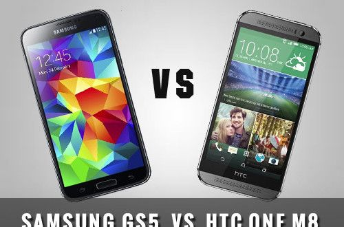 Samsung Galaxy S5 vs HTC One (M8): Full Spec Comparison