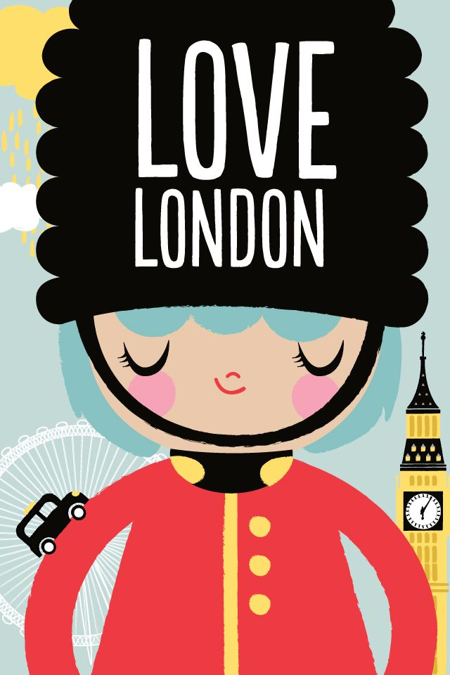 London: London Poster, Speed Clean, I Love British, England Travel London, I Love London, London Travel Poster, I-Phon Illustrations, Bedrooms Decor, British Travel Poster