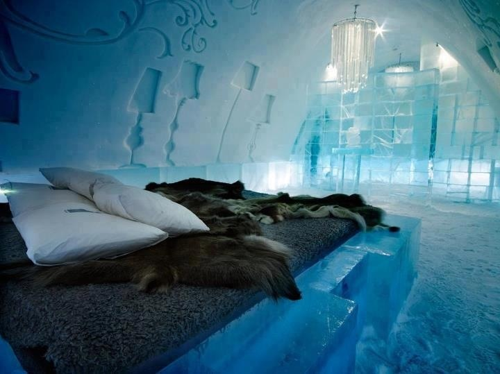 Ice Hotel In Iceland