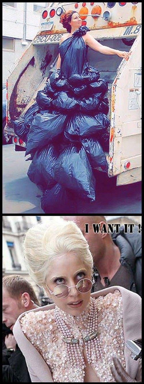 Lady Gaga wants it