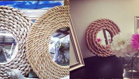 Como decorar espejo para el d a la madre manualidades de hogar diy project x pinterest - Manualidades para decorar el hogar ...