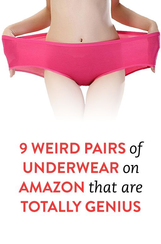 9 Weird Pairs of Underwear on Amazon That Are Totally Genius