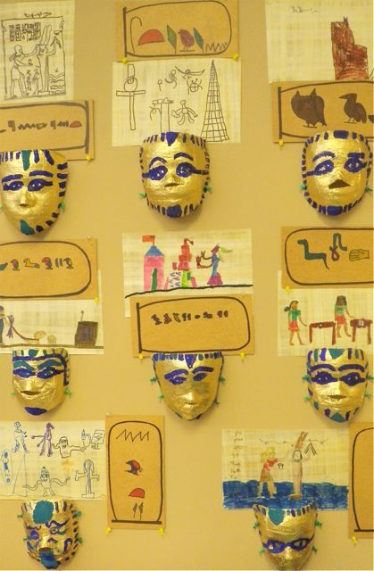 ancient egypt writing and art projects