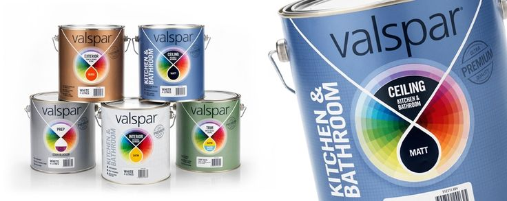 Packaging Design - Valspar Paint | bluemarlin Brand Design