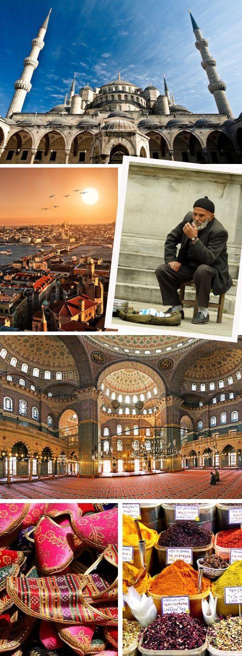 Atmosphere in Istanbul ,  Turkey