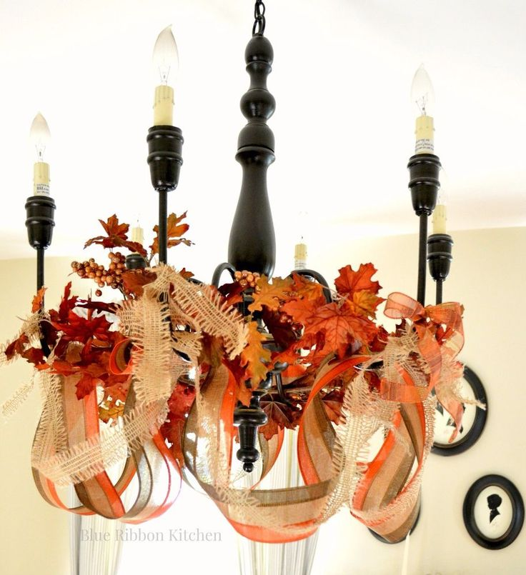 She buys cheap ribbon from Michaels. What it becomes? I love this dining room idea!