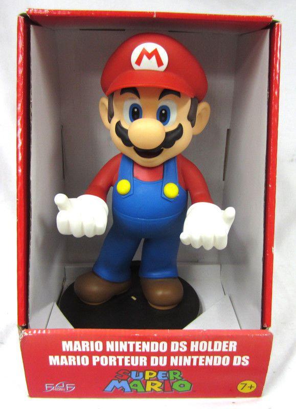 "12"" First Figures Super Mario Nintendo DS 3DS DSi Lite Holder NA3D02 Display #FirstFigures"