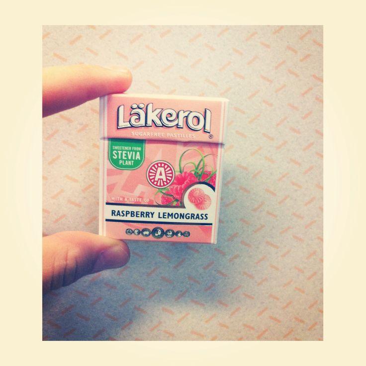 Läkerol - Raspberry Lemongrass