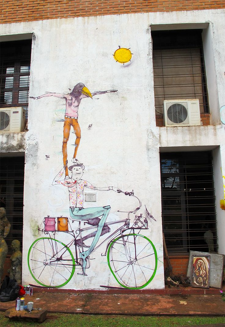Bicycle Street Art by Mart street art murals bicycles | Street Art ...