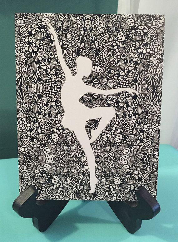 Zentangle - Tiny Dancer                                                                                                                                                     Plus