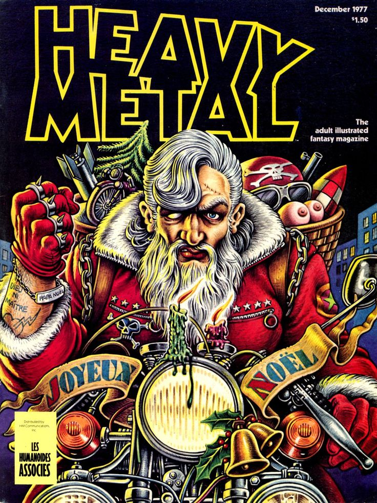 First Christmas for Heavy Metal... had to steal it but I had to have it, one of my favorite covers ever. Merry Xmas all!