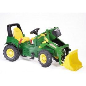Rolly Toys John Deere 7930 Tractor With Loader Pneumatic Tyres Brake & Gears - This is the ULTIMATE John Deere for your little ones. It may be a little heavier on the wallet but it will be used for generations to come... durable is an understatement!