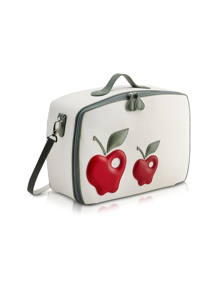 Pineider Red Apple Mini Travel Bag - FORZIERI