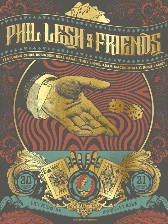 Phil Lesh and Friends at Brooklyn Bowl Las Vegas - http://fullofevents.com/lasvegas/event/phil-lesh-and-friends-at-brooklyn-bowl-las-vegas/