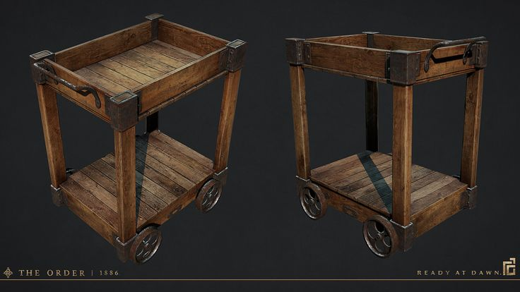Pushcart, Scot Andreason on ArtStation at https://www.artstation.com/artwork/pushcart