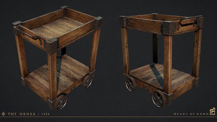 Pushcart, Scot Andreason on ArtStation at https://www.artstation.com/artwork/pushcart