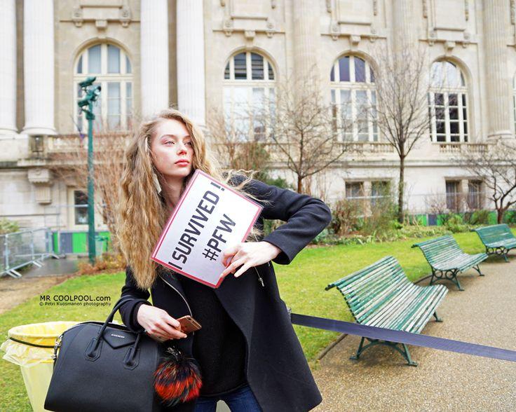 Mr Coolpool: Paris Fashion Week - we survived !