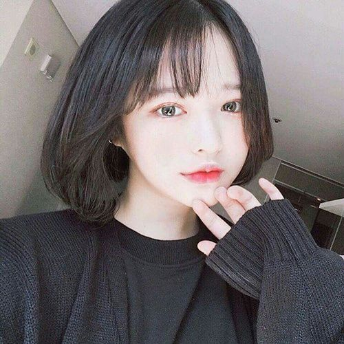 Hairstyles For Short Hair With Bangs 107 Best Hairstyle Inspiration Images On Pinterest  Beleza Korean