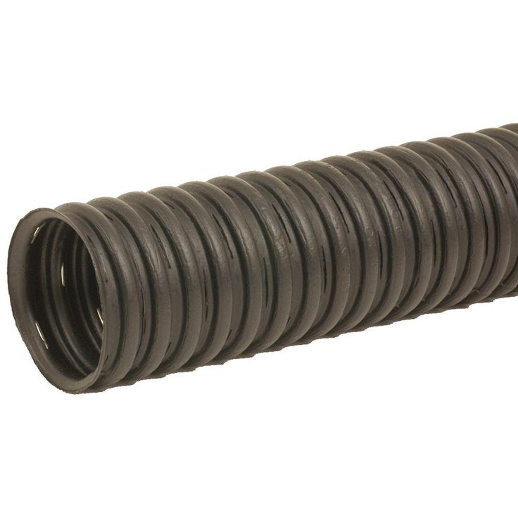 null 4 in. x 10 ft. Corex Drain Pipe Perforated