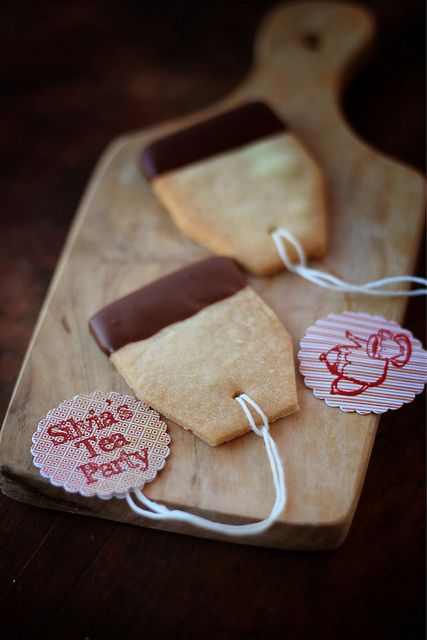 Cookie Tea Bags - could make for people when they book special parties etc...