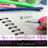 Grading a high school essay