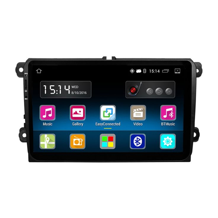 RM-VWTY90 Android 5.1 Car Radio Stereo Player GPS 1G DDR3 + 16G NAND Memory Flash for VW Passat Golf MK5 MK6 Jetta T5 EOS POLO