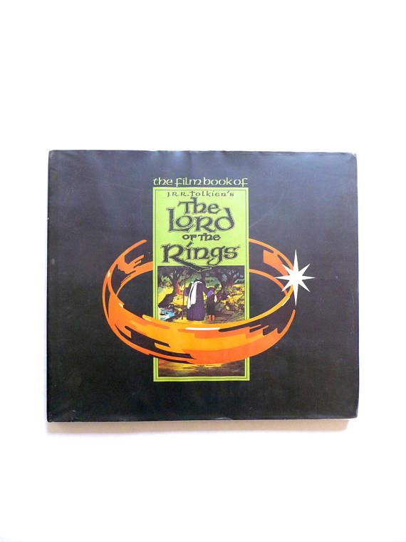 The Film Book or JRR Tolkien's The Lord of the Rings